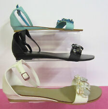 L6720-LADIES SAVANNAH SANDALS IN COLOURS-BLUE,BEIGE AND BLACK ONLY £6.99!!