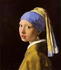 Girl With Pearl Earring~cross stitch pattern #1105~Fine Art Graph Chart