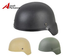 Airsoft Tactical Miliary MICH 2000 ABS Plastic Helmet Tan/Black/Olive Drab