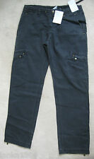 Original Nike Black 100% Cotton Jeans Casual Trousers (NEW) UK Size 8