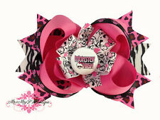 Monster High Boutique Hair Bow on Alligator Clip, Headband or Barrette