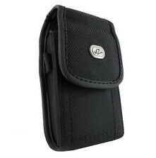 Vertical Clip Cover Heavy Duty Rugged Canvas Case Pouch - See the List