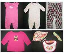 Gymboree baby layette girl romper pants top shirt hat plaid accessories 0-12 mo