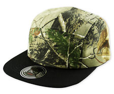 RARE - Exclusive - ITZU Co. 5 Panel CAMO Snapback Cap Hat Snap Back - Camouflage
