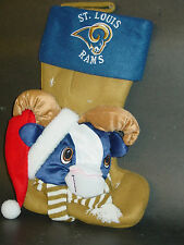 NFL Mascot Christmas Stocking, (Choose Your Team), NEW