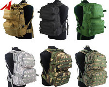Airsoft Molle Tactical Assault Hiking Hunting Backpack Bag 4 Color BK/TAN/OD/ACU