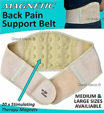 Magnetic Waist Lower BACKACHE Brace - *Lumbar Support Belt Back Ache Pain Relief