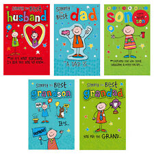 Simply The Best Cards - For Male Relations Dad Son Husband Grandson & more
