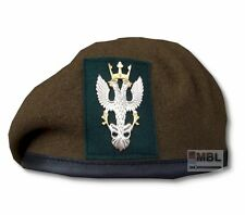 MERCIAN REGIMENT OTHER RANKS BERET & CAP BADGE  HIGH QUALITY 54-62 cm