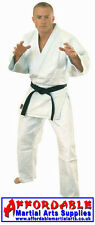 ***Brand New - Bleached 'White' Medium Weight Judo / Ju Jitsu Gi/Suit/Uniform***