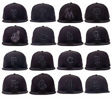 New Era 59FIFTY - MLB Black/Grey Collection - Baseball Hat Cap