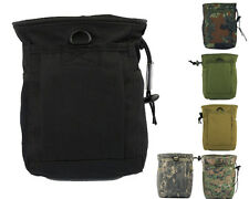 Airsoft Molle Tactical Small Magazine DUMP Drop Pouch 6 Colors BK/TAN/OD A