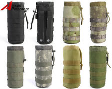 Airsoft Tactical MOLLE 1000D Water Bottle Pouch Bag with Mesh Bottom 7 Colors