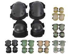 Airsoft Tactical Knee & Elbow Protective Pads Set 6 Colors Black/Tan/OD/ACU A