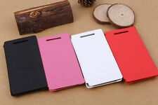 Luxury Flip Leather Case Cover+Screen Protector For HTC Windows Phone 8X