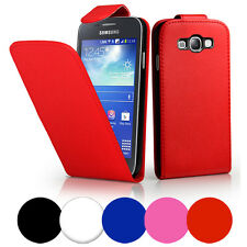 Flip Leather Case Cover For Samsung Galaxy Ace 3 S7270+ Screen Protector