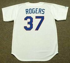 KENNY ROGERS Texas Rangers 1993 Majestic Cooperstown Home Baseball Jersey