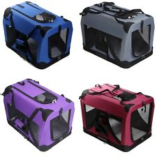 Portable Soft Pet Dog Crate Travel Carrier Cage Kennel Folding Collapsible Bag