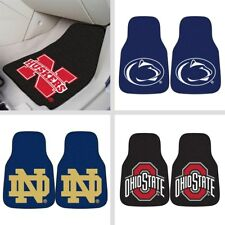 Choose Your NCAA College N-R Team 2 PC Car & Truck Front Floor Mats by Fan Mats