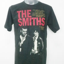 THE SMITHS RETRO INDIE ROCK T- SHIRT BLACK SIZE S / M / L  #S001