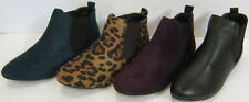 F4344 - Spot On Pixie Style Ankle Boots - Elasticated Sides - REDUCED