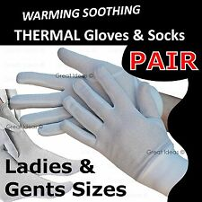 Silver Fibre Therapy Gloves & Socks - Healing Therapeutic Warmth Arthritis Pain
