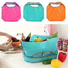 Popular Eco Reusable Shopping Bags Foldable Grocery Beach Laundry Storage Bag
