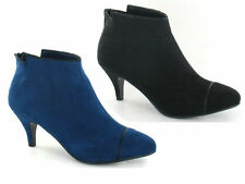 LADIES SPOT ON ANKLE BOOTS - F50190