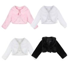 Girl Outfit Jacket Coat + Tutu Top Dress Toddler Party Pageant Clothes SZ 3-6T