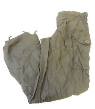 BLACK RIPSTOP COMBAT FIELD TROUSERS - MUTIPLE SIZES - BRITISH ARMY ISSUE