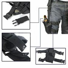 Waterproof Tactical Puttee Thigh Right Leg Pistol Gun Holster Pouch 5 Colors