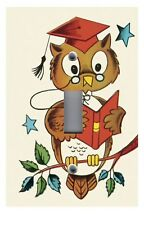 Light Switch Plate Switchplate & Outlet Covers KID'S ROOM WISE OLD OWL
