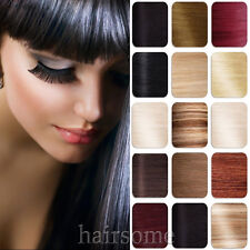 "15/18/20/22/24/26/28/30"" CLIP IN REMY REAL HUMAN HAIR EXTENSIONS FREE SHIP LOT"
