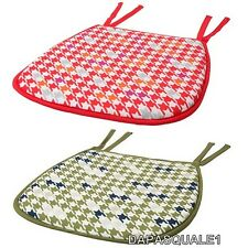 IKEA ANNVY - Chair Pad Hound Tooth Assorted Colors NEW