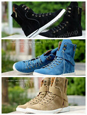 2013 Hot British Mens High-top Suede Ankle Boots Loafers Shoes Sneaker SS06