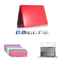 Hard Case For MacBook Pro 13.3 Air 13 Air 11 Pro 15 + Keyborad Cover + Screen