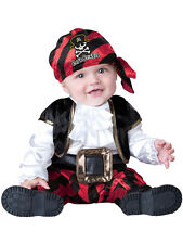 Child Infant Cap'n Stinker Fancy Dress Costume Pirate Captain Caribbean Kids
