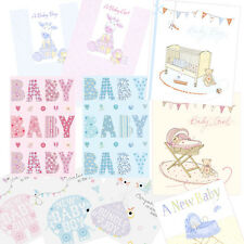 New Baby Birth Luxury Card Cards - Suitable for Boy Boys or Girl Girls