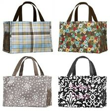 NEW Thirty one gift all in one Organizer mini tote bag 31 harvest plaid & more