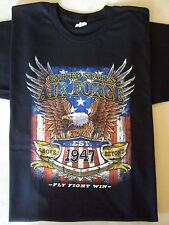 UNITED STATES AIR FORCE EST.1947 FLY FIGHT WIN Military T-Shirt
