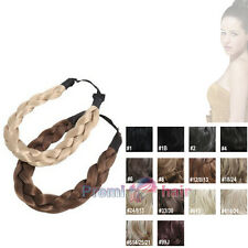 Hairpiece Chunky plaited headband Braided Hair piece synthetic hair