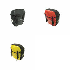 OUTEREDGE BIKE CYCLING 100% WATERPROOF PANNIER BAGS. CHOICE OF 3 COLOURS. OBA525