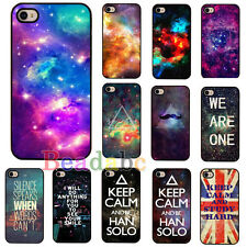 Galaxy Space Universe Snap On Hard Back Skin Case Cover for Apple IPhone4 4S 5