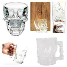 New Variety of Crystal Skull Head Glass Bottle / Cup / Shot Glass Drinking Ware