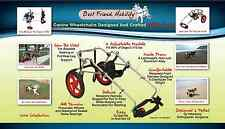 NEW Best Friend Mobility Dogs Wheelchairs Cart All Sizes - Pets 0 - 175 lbs Pets