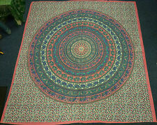*Beautiful* Indian Classic Elephant Design Throw - Various Colours (6)