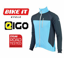 NEW EIGO LEVANTER WINDPROOF CYCLING CLOTHING JACKET FOR ROAD RACE XC SKY BLUE