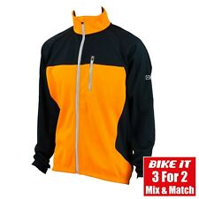 NEW EIGO LEVANTER WINDPROOF CYCLING CLOTHING JACKET FOR ROAD RACE VIVID ORANGE