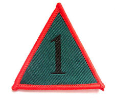 TRF MTP 1 ARMOURED INFANTRY BRIGADE  SEW ON or VELCRO BADGE (1 MECHANISED BDE)