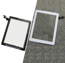New Touch Screen Glass Digitizer+Home Button Adhesive Assembly kotg for IPad 2